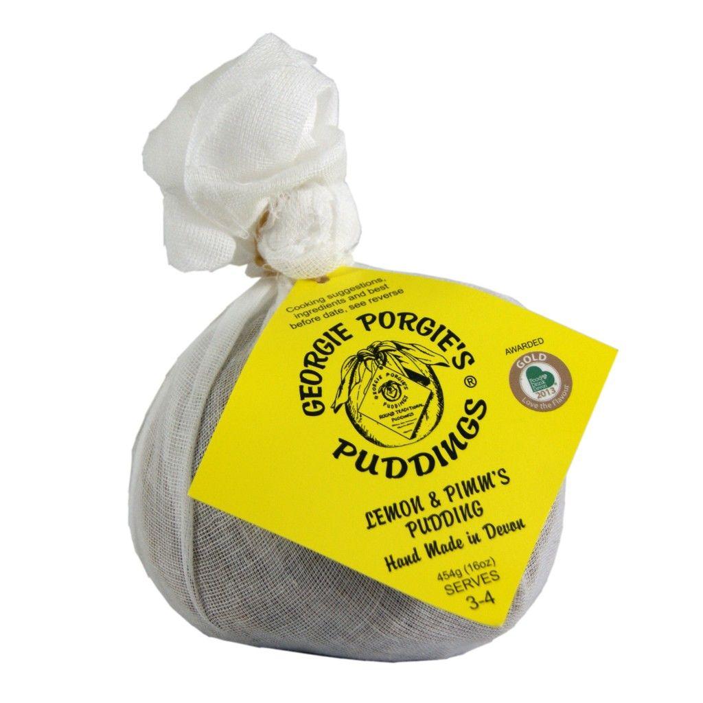 Lemon and Pimms Pudding