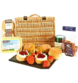Devon Cream Tea for Four Hamper