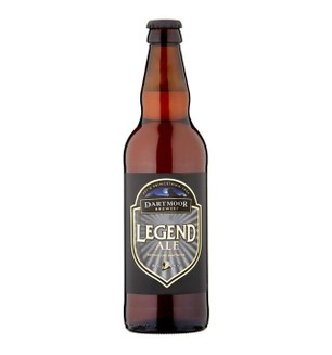 Dartmoor Brewery Legend Ale 500ml bottle