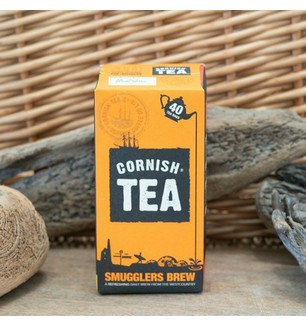 Cornish tea smugglers brew box of 40 tea bags