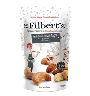 Mr Filbert's Indulgent Black Truffle & sea salt - mixed nuts