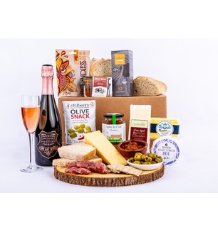 The Charcuterie Style Picnic Hamper