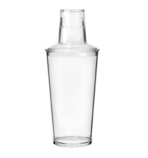 Cocktail Shaker 3 Piece  568ml - Polycarbonate