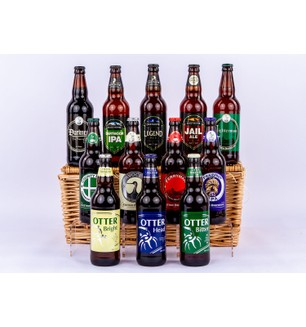 The Devon Dozen Twelve Ales Hamper