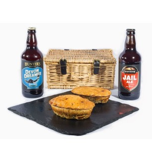 Devon Pie & Beers Hamper