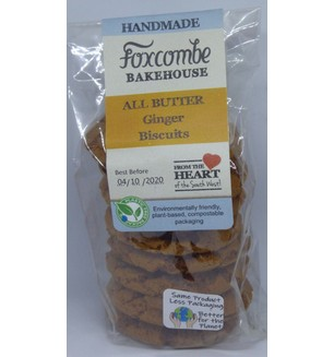 Foxcombe Bakehouse All Butter Ginger Biscuits