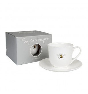 Sophie Allport Bees Tea Cup and Saucer-small