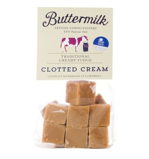 Cornish Buttermilk Clotted Cream Fudge-175g
