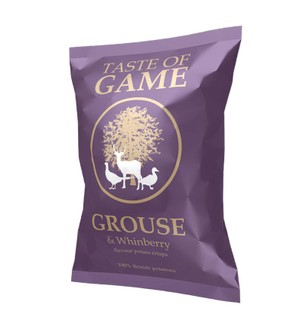 Taste of Game Grouse & Whinberry Crisps - 40g