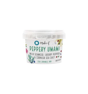 Cornish Sea Salt Co-Peppery Umami - 40g