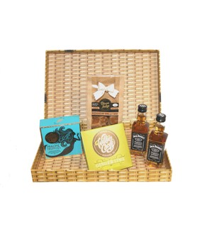Devon Chocolate, Fudge & Whiskey Letter Box Gift
