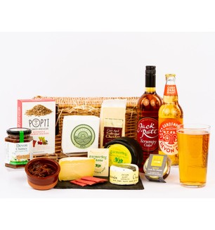 Devon Cheese and Cider Hamper