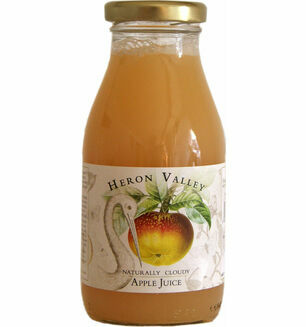 Heron Valley Naturally Cloudy Apple Juice