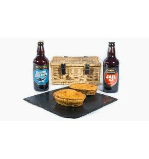 Pie & Beers Devon Hamper