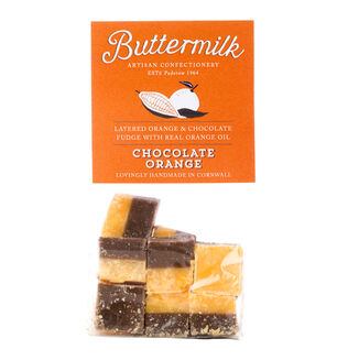 Cornish Buttermilk Chocolate Orange Fudge