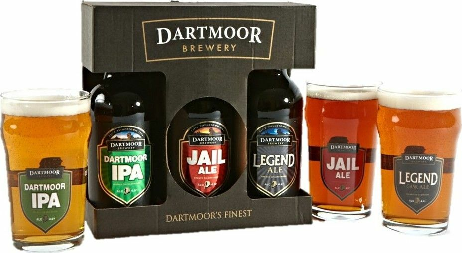 Dartmoor Ale Gift Set from £21.50