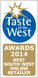 Taste of the west winner 2014.